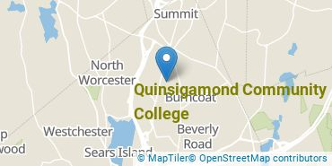 Location of Quinsigamond Community College