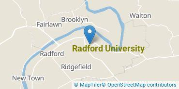 Location of Radford University