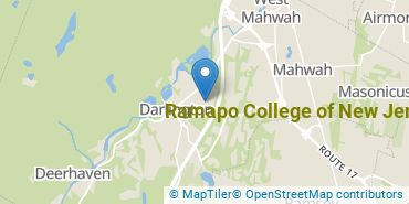 Location of Ramapo College of New Jersey