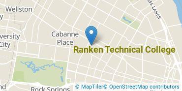 Location of Ranken Technical College