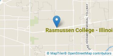 Location of Rasmussen University - Illinois