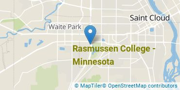 Location of Rasmussen College - Minnesota