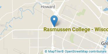 Location of Rasmussen University - Wisconsin