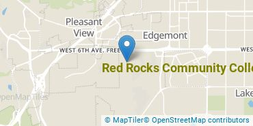 Location of Red Rocks Community College