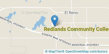 Location of Redlands Community College
