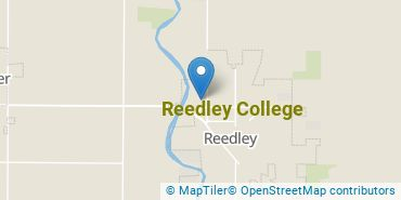 Location of Reedley College
