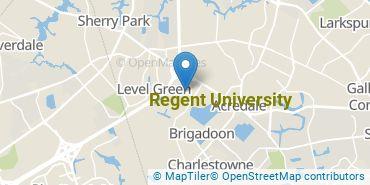 Location of Regent University