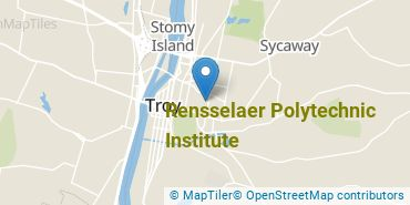 Location of Rensselaer Polytechnic Institute