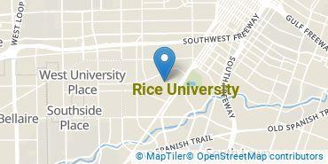 Location of Rice University