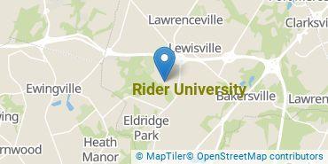 Location of Rider University