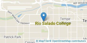 Location of Rio Salado College