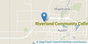 Location of Riverland Community College
