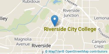 Location of Riverside City College