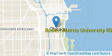 Location of Robert Morris University Illinois
