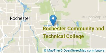Location of Rochester Community and Technical College