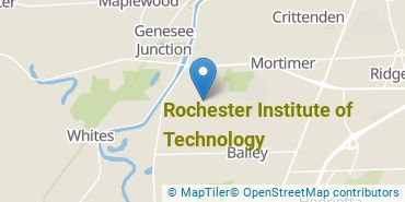 Location of Rochester Institute of Technology