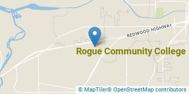 Location of Rogue Community College