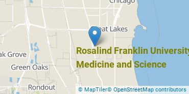Location of Rosalind Franklin University of Medicine and Science