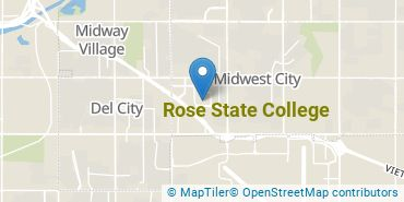 Location of Rose State College