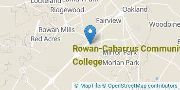 Location of Rowan-Cabarrus Community College