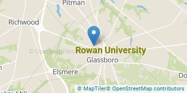 Location of Rowan University