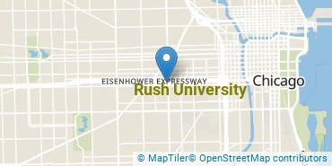 Location of Rush University