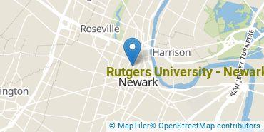 Location of Rutgers University - Newark