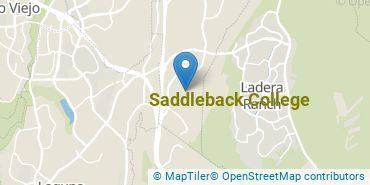 Location of Saddleback College