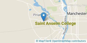 Location of Saint Anselm College
