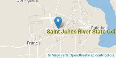 Location of Saint Johns River State College