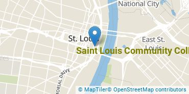 Location of Saint Louis Community College