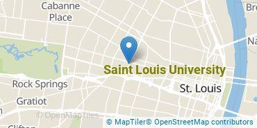 Location of Saint Louis University