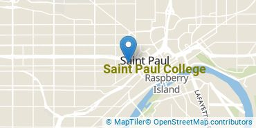 Location of Saint Paul College