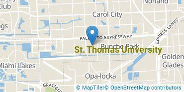 Location of St. Thomas University