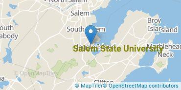 Location of Salem State University