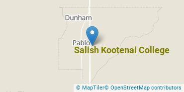 Location of Salish Kootenai College
