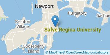 Location of Salve Regina University