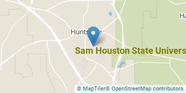 Location of Sam Houston State University
