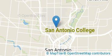 Location of San Antonio College