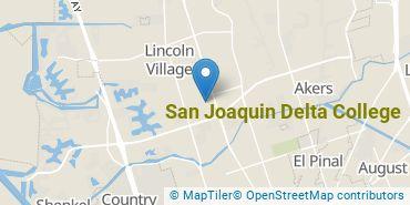Location of San Joaquin Delta College