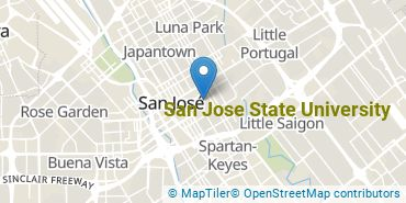 Location of San Jose State University