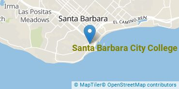 Location of Santa Barbara City College