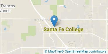Location of Santa Fe College