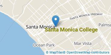 Location of Santa Monica College