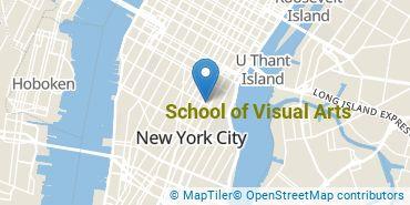 Location of School of Visual Arts