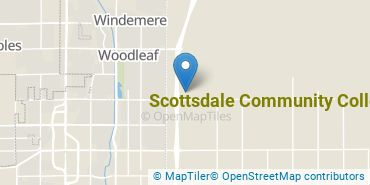 Location of Scottsdale Community College