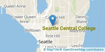 Location of Seattle Central College