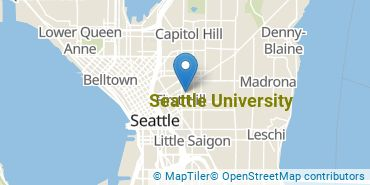 Location of Seattle University