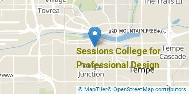Location of Sessions College for Professional Design