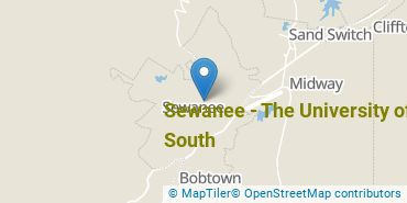 Location of Sewanee - The University of the South
